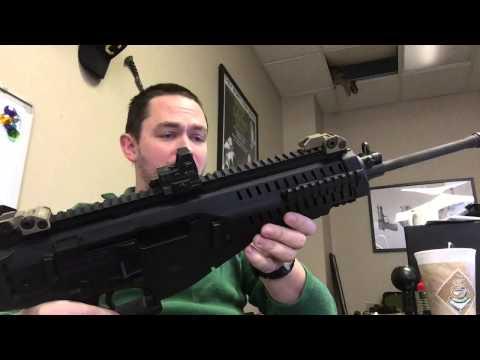 90 Second Gun Reviews: Beretta ARX-100