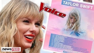 Taylor Swift ANNOUNCES 'Lover' Festival & Joins 'The Voice'!