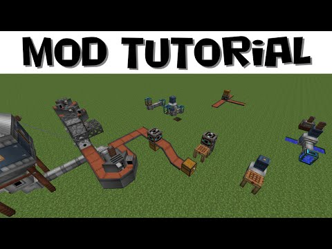 Immersive Engineering Tutorial #6 - Fluid Systems and Item Sorting (MC 1.7.10)