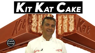 The Cake Bosss HUGE Kit Kat Cake   Cool Cakes 23