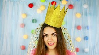 How To Make A  Princess Birthday Crown