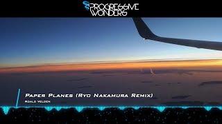 Roald Velden - Paper Planes (Ryo Nakamura Remix) [Music Video] [Progressive House Worldwide]