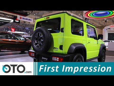 Suzuki Jimny Sierra All Grip 4x4 | First Impression | GIIAS 2018 | OTO.com