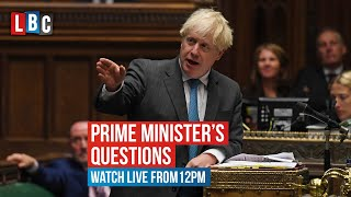 Boris Johnson v Keir Starmer in Prime Minister's Questions | Watch live on LBC