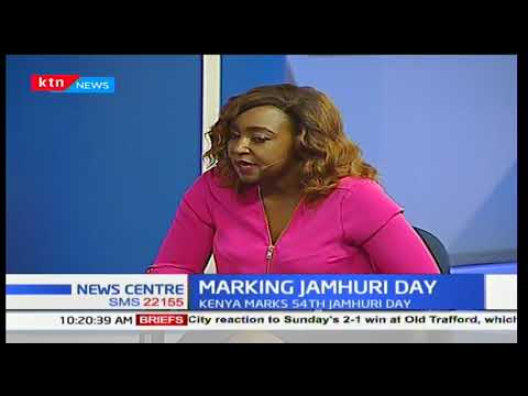 President Uhuru Kenyatta needs to foster national unity as Kenyans celebrate Jamhuri day:News Centre