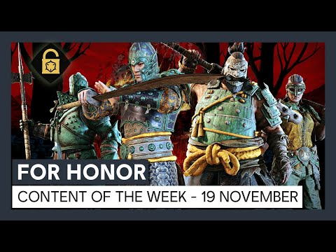 FOR HONOR – CONTENT OF THE WEEK – 19 NOVEMBER
