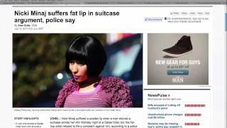 Nicki Minaj Denies Hotel Fight