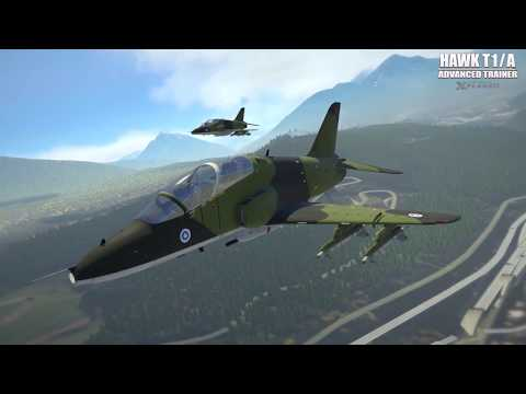 justflight] Just Flight's Hawk T1/A Advanced Trainer (for X