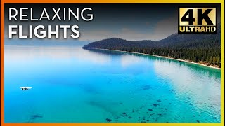 Soaring over the Magical Blue Waters of Lake Tahoe California