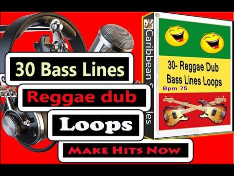30-Popular Bass-Lines Loops / Bpm-75