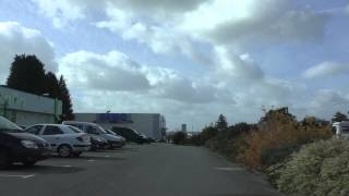 preview picture of video 'Driving Around 29270 Carhaix Plouguer, Finistère, France 21st Octoer 2014'