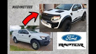 Ford Ranger to Raptor Build in 10 Minutes