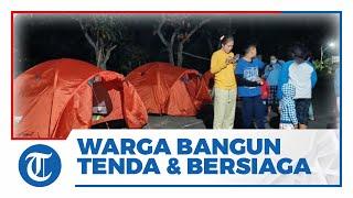 Gempa Susulan di Salatiga, Warga Dirikan Tenda & Bersiaga di Luar Rumah