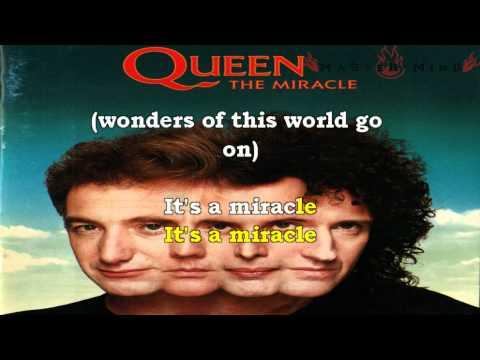 Queen - The Miracle Karaoke