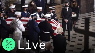 LIVE: Ruth Bader Ginsburg Becomes First Woman to Lie in State at the U.S. Capitol