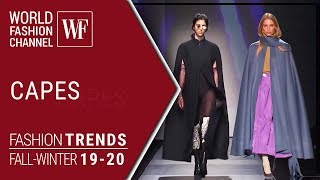 Capes | Fashion Trends Fall Winter 19/20
