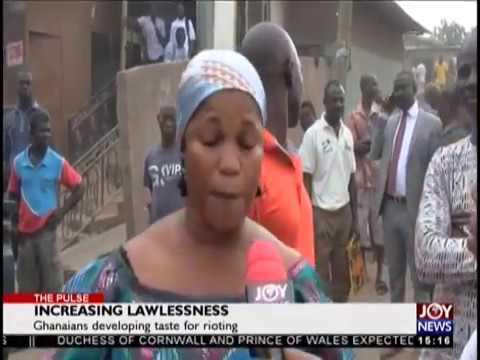 Increasing Lawlessness - The Pulse on JoyNews (23-10-18)