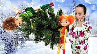Сказочный патруль выбирают елку! Девочки - волшебницы. Новый год 2019