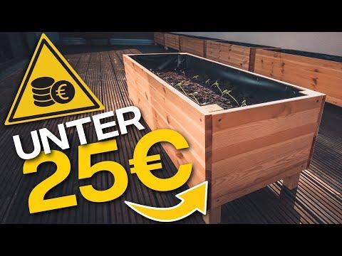Hochbeet selber bauen für 25€