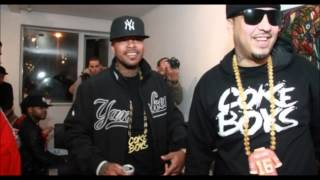 Chinx Drugz ft. French Montana, Rick Ross, Diddy - I'm a Coke Boy Remix (slowed)