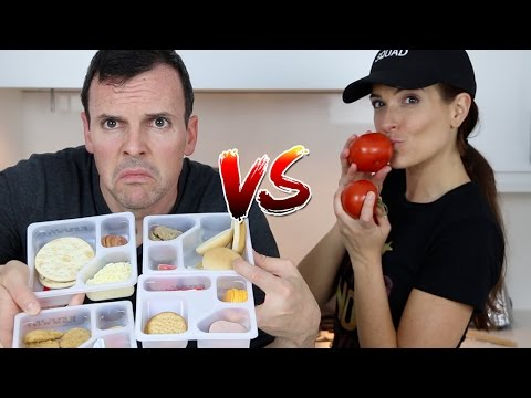 LUNCHABLES vs REAL FOOD