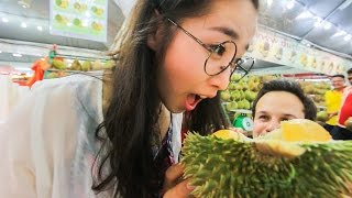 Durian Fruit Feasting in SS2, Kuala Lumpur, Malaysia! Subscriber Meet Up!