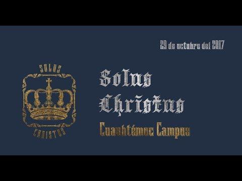Solus Christus (En Cristo Solamente)