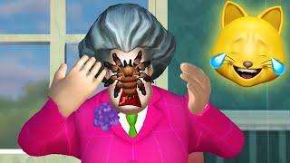 SPIDER PRANK ON HELLO NEIGHBOR'S SISTER.. (Scary Teacher 3D)