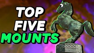 Top 5 Mounts of the Wild - BOTW | Ft. Hyrule Gamer