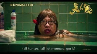 The Mermaid  By Stephen Chow Official Trailer 2016 Hong KongChinese  Science Fiction Comedy Film