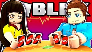 Husband Vs. Wifey! Who Takes the L in This Uno Challenge?! (Roblox)