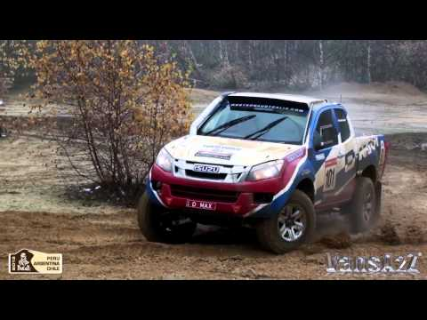 Isuzu D-Max Rally Truck Video