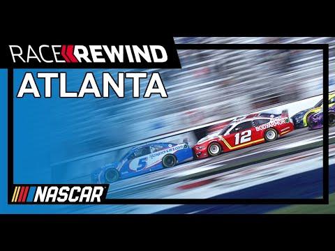NASCAR フォールズ・オブ・オナー・クイックトリップ500(アトランタ・モータースピードウェイ)ハイライト動画