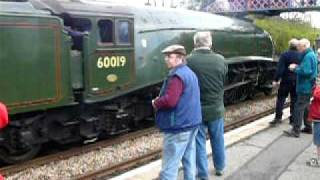 preview picture of video 'Bittern 60019 arriving at Shalford'
