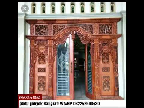 60 pilihan pintu gebyok terbaik 2019,WA/HP 082242603439,Pintu gebyok ukiran Jepara,pintu gebyok ok.