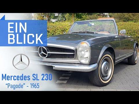 """Mercedes-Benz 230 SL """"Pagode"""" W113 1965 - Wie viel Charme steckt in der Ikone einer Generation?"""