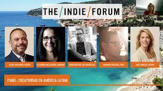EN ESPAÑOL: Panel: Creatividad en América Latina