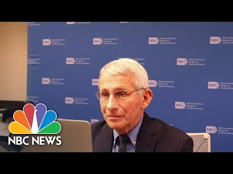 Dr. Fauci Says We're In A Race Against Time To Beat Covid Variants   NBC Nightly News