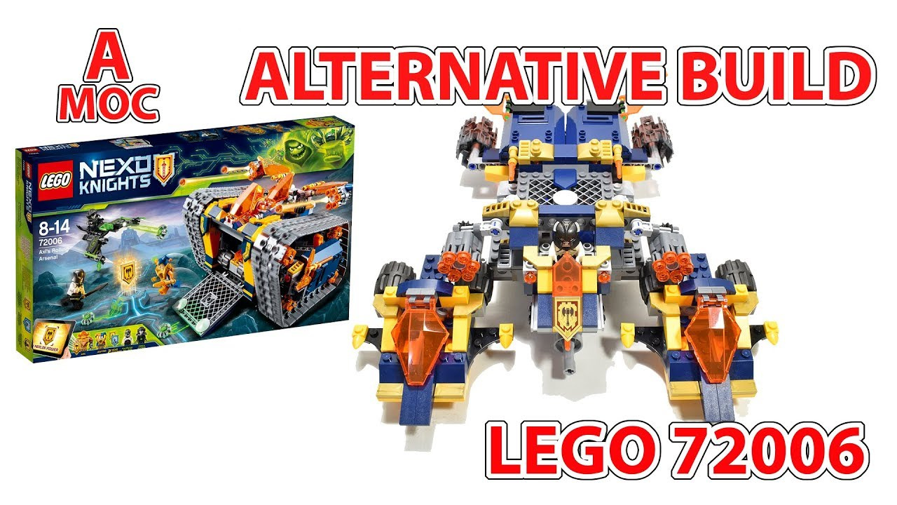LEGO 72006 NEXO DEFENDER SPACESHIP alternative build [A MOC]