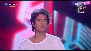 "Luís Sequeira - ""When the street have no name"" - Final - The Voice Portugal"