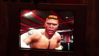 Вечерние посиделки в UFC на PS3 ( Brock Lesnar , Scott Jorgensen)