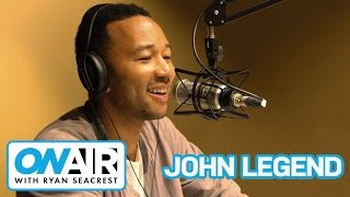 John Legend on Tanya Rad's Vision Board | On Air with Ryan Seacrest