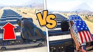 Gta 5 ITA - X80 Proto Vs Monster Truck! - Quale salta di più??
