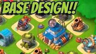 """Boom Beach """"HQ 20 BASE DESIGN"""" High Level Base Design 20-21 HQ Levels   CosmicDuo"""