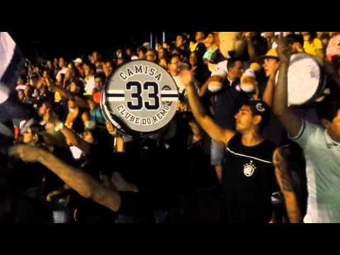 """""""Camisa 33 - Te Sigo Apoiando - Remo x Santa Cruz (19/03/2014)"""" Barra: Camisa 33 • Club: Remo"""
