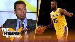 Chris Broussard talks LeBron recruiting Anthony Davis, Chris Paul injury   NBA   THE HERD