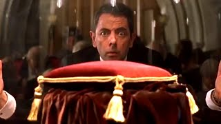 Crown Jewels Stolen   Johnny English   Funny Clip   Mr Bean Official