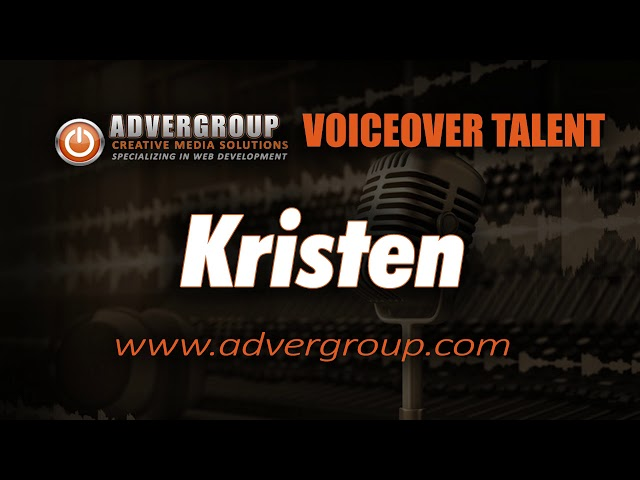 KRISTEN Female VOICE ..