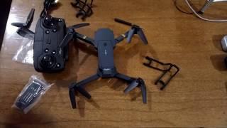 Квадрокоптер Дрон Eachine E58 Wi-Fi FPV с широкоугольной HD камерой 1080P