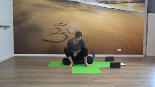 Yin Yoga #7 With Kim Focus on Immunity with Heart, Lung, Intestine Meridian